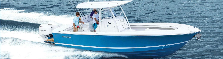 Regulator 28 Boat